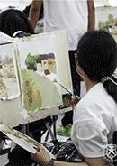 美术书法课堂实录