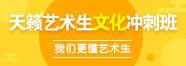 天籁艺术生文化冲刺班