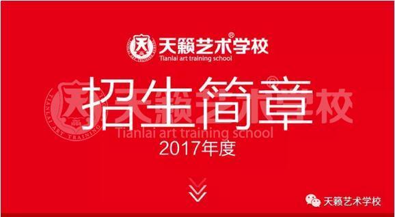 天籁艺术学校2017年度招生简章!