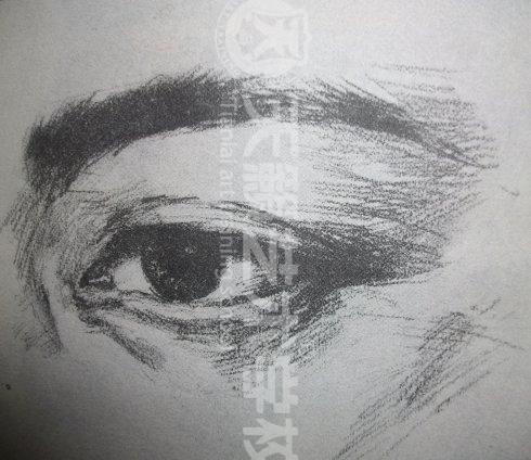 人物素描五官的画法讲解