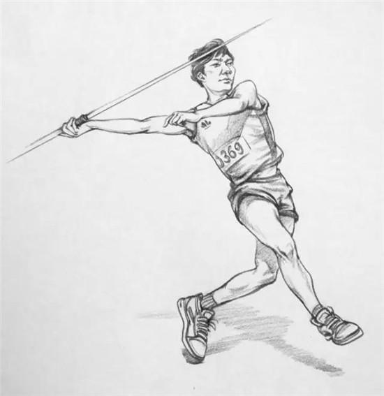 速写不像素描,动作不僵硬人物才算是画活了,画的时候注意躯干四肢之间