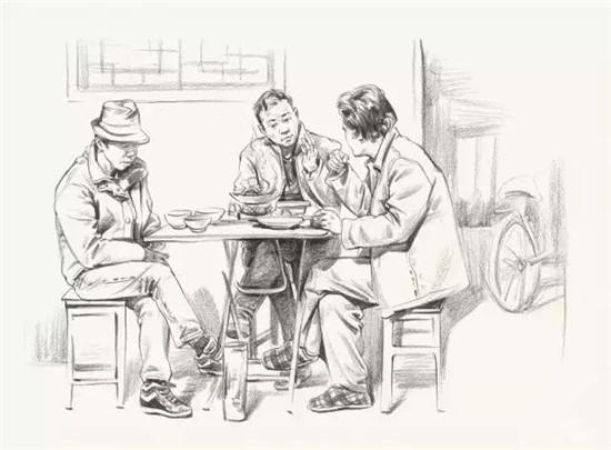 速写教程 人物坐姿,人物比例 画面构图 细节刻画尤为重要