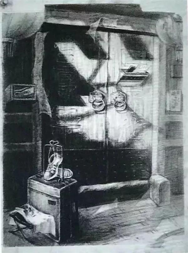 清华美院 素描 高分卷图片