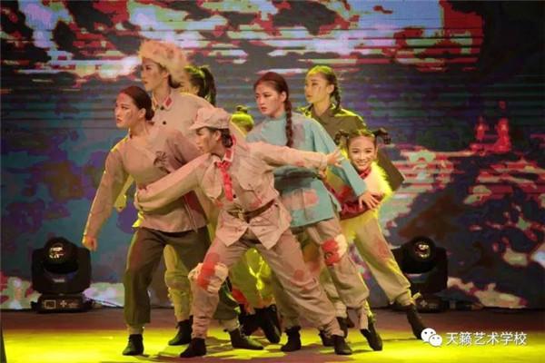舞蹈专业群体舞《八女投江》
