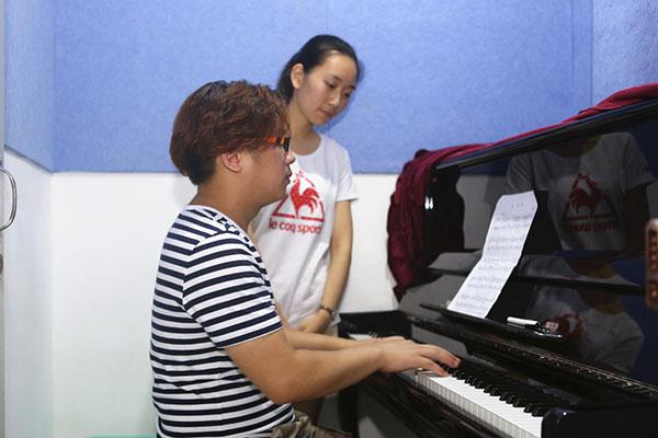 天籁钢琴教学