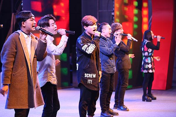 天籁音乐专业学生演唱流行歌曲