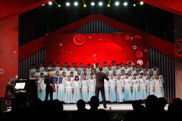 天籁音乐专业学生大合唱