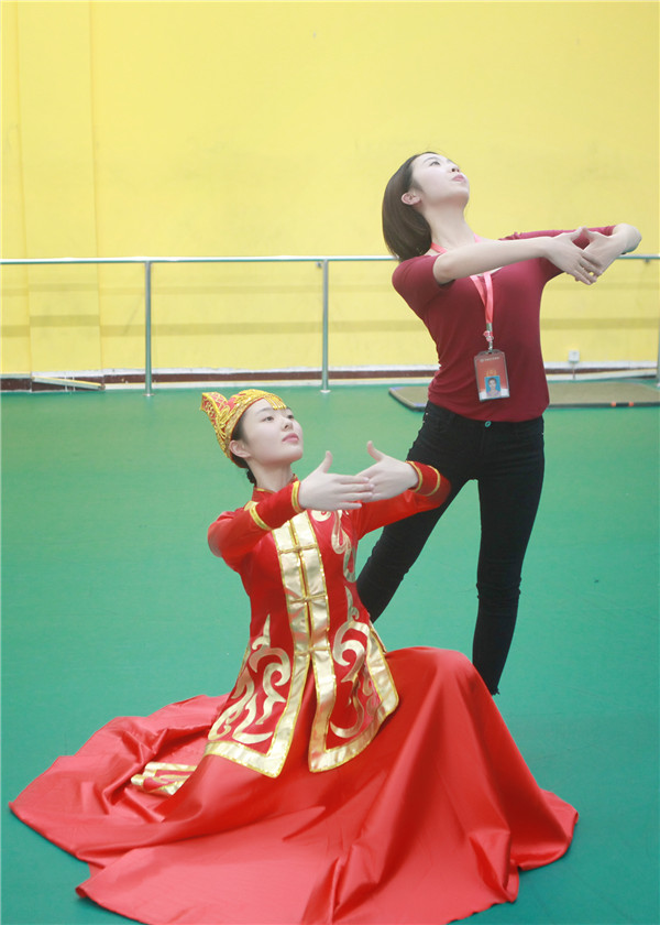 天籁舞蹈教学