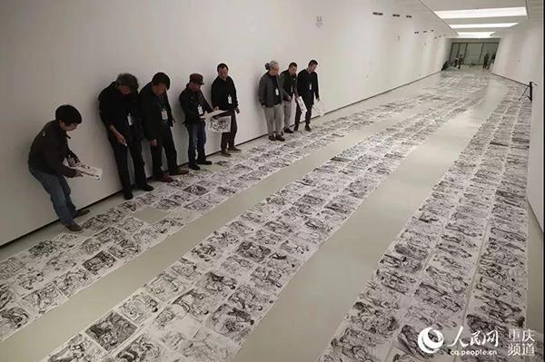 2018川美阅卷现场