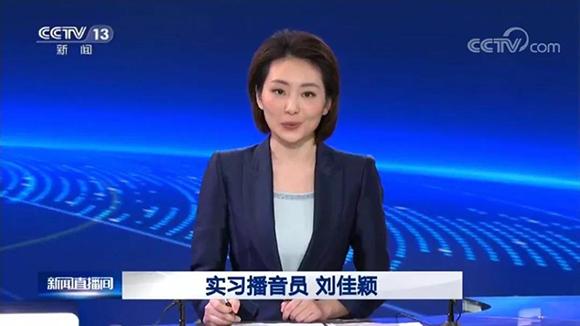 央视播音员刘佳颖
