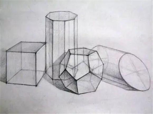 素描入门:静物的结构