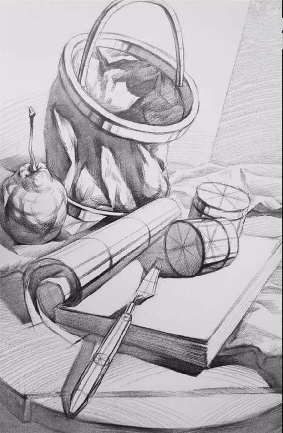 素描学习重中之重!物体的结构训练