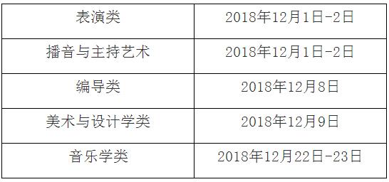 上海2019联考时间