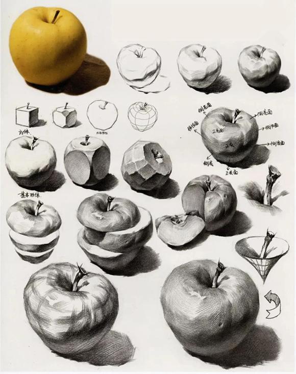 苹果的步骤解析图片
