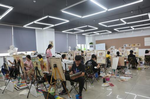 天籁画室练习课堂