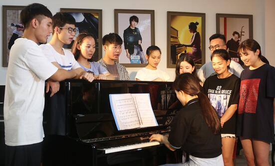 天籁音乐专业课堂练习